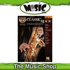 New Classic Rock Saxophone Play Along Music Book & CD - Volume 3