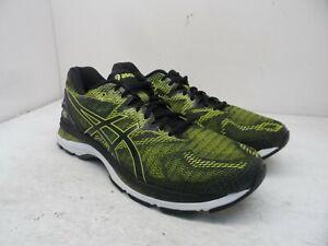 ASICS Men's GEL-Nimbus 20 Running Sneakers T800N Yellow/Black/White Size 12M