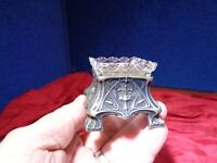 ~ ∆ ~ Beautiful Antique Sterling Silver Candy Dish ~ ∆ ~