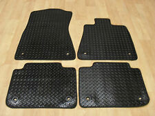 Lexus GS250 - GS300 (2013-on) Fully Tailored RUBBER Car Mats in Black.