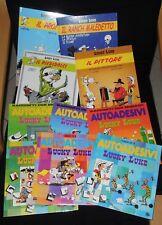 super Lotto 4 fumetti e 6 book Gioco Autoadesivi LUCKY LUKE