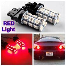 2x 12V 3457 3157 3156 Licht Auto Bremslicht Rücklicht ROT Lampe Rot Licht Birne