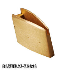 Brass Habaki collar SMALL SIZE  for Japanese Samurai Tanto Swords