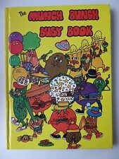 The Munch Bunch Busy Book Giles Reed Denis Bond Story/Activities 1984 Hardback