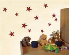 Wandsticker Sterne Set 'gefüllt' 25 Farben Bogenmaß 15x20cm Wandtattoo Stern