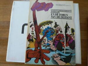 PEP COMIC 1974-36 CONAN DE BARBAAR EXTRA ,VOGEL, ELTON JOHN,LUCKY LUKE WERELD