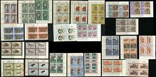INDONESIA Republic Postage Blocks Stamp Collection CTO MINT NH