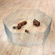 Pet Rabbit Guinea Pig Bunny Cage Indoor Fence Barrier to Play & Run TRIXIE