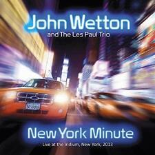John Wetton And The Les Paul Trio - New York Minute (NEW CD)