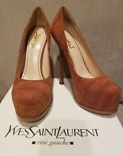 New YSL Tribtoo 105 Pump Cocco Nabuk shoes, IT 40, with box SOLD OUT!!