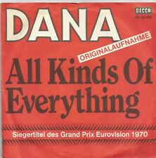 Dana - All Kinds Of Everything / Channel Breeze (Vinyl-Single 1970) Grand Prix !