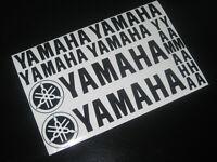 YAMAHA Decals Stickers Motorbike Motorcycle Tank Fairing Helmet Wheels Printed