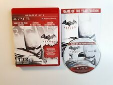 Batman: Arkham City Game of the Year Edition - Playstation 3 PS3 Game - COMPLETE