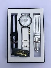 Juicy Couture Women's Swarovski Crystal Accented Watch Interchangeable Strap Set