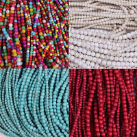 Wholesale 100Pcs Round Loose Turquoise Spacer Beads Jewelry Findings 4mm 6mm