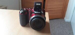 Nikon COOLPIX L820 Digital Camera RED