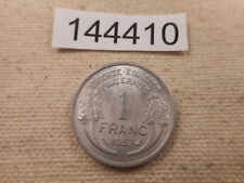 1957 France 1 Franc - Nice Unslabbed Collector Album Grade Coin Raw - # 144410