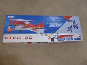 E-Flite DIVO 3D Aerobatic Radio Control Model Unmade Kit