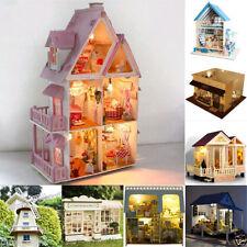 Maisons de poupées miniatures en kit en bois