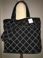 PAUL & JOE SISTER Ladies Black White Logo Shopper Handbag Bag Purse New £155