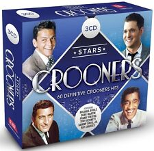 Stars-Crooners (Michael Bublé, Frank Sinatra, Ray Charles,...) 3 CD NUOVO