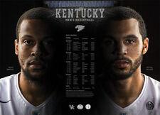2016-17 KY University of Kentucky Wildcats Basketball Schedule / Poster BRISCOE