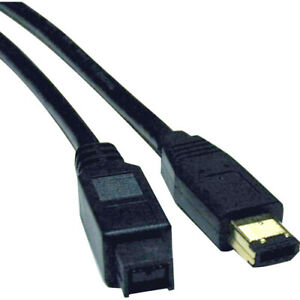 Tripp Lite 6ft Hi-Speed FireWire IEEE Cable-800Mbps with Gold Plated Connectors