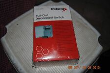 Diversitech DDS-60U Pull-Out Disconnect Switch 60 amp