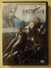 Final Fantasy VII Advent Children DVD 2006 2 Disc Set Fast Free Shipping