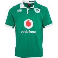 CANTERBURY RUGBY union IRELAND Irish Vapodri Player Shirt M