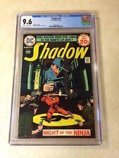 THE SHADOW #6 CGC 9.6 KALUTA, NM+, 1974, NIGHT OF THE NINJA, EVIL LURKS!!!
