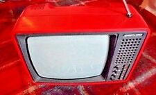 VINTAGE TV *JUNOST 406 D*  14 inch  RUSSIAN portable  VERY RARE