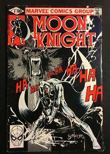MOON KNIGHT 8 BILL SIENKIEWICZ ART NIGHT OF THE WOLVES V 1 WEREWOLF BY AVENGERS