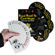 Magic Dvd Set - Royal Road to Card Magic Deluxe - Complete Dvd Set