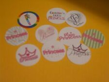 Pre Cut One Inch  Daddy/'s Italian Princess  Bottle Cap Images FREE SHIP