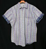NWOT-New(NOS)_Vintage_Made In USA_BODY OBJECTS Shirt_Cotton_Short-Sleeve_Sz.M