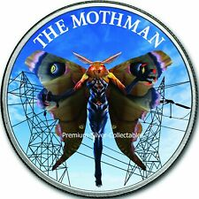 2019 USA Cryptozoology Series Mothman! - Silver Colorized Series!