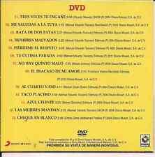 ultra rare DVD 80's 90's Paquita la del Barrio RATA DE DOS PATAS me saludas a la