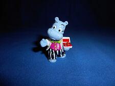 HIPPOPOTAMUS GROOM Figurine CARTOON HAPPY HIPPO WEDDING Figure Kinder Surprise