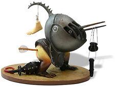 HIERONYMUS BOSCH Helmet Bird Gothic Fantasy Medieval Sculpture Statue Figurine