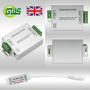 3528 5050 LED RGB/RGBW Strip Lights Signal Amplifier Repeater Controller 5V-24V