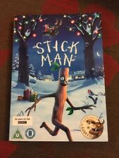 STICK MAN BBC JULIA DONALDSON SLIPCASE REGION 2 GENUINE DVD