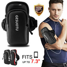 Large Size Sports Arm Band Phone Holder Key Armband Bag Running Jogging Cycling