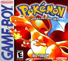 Pokemon Red Nintendo Game Boy