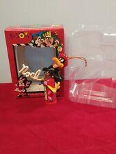 New ListingWarner Bros Matrix Looney Tunes 1997 Fireman Daffy Duck Christmas Ornament