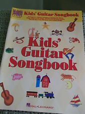 Kid's Guitar Songbook 64 pages - Hal Leonard Easy to Read  36 songs