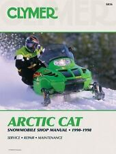 Clymer Arctic Cat : Snowmobile Shop Manual 1990-1998-ExLibrary