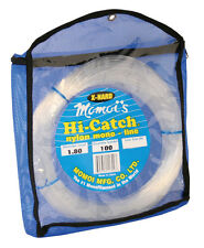 Momoi Hi-Catch Monofilament X-Hard Leader--100 Yard--Clear--Pick Your Line Class