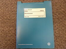 1995 1996 1997 Volkswagen VW Passat Maintenance Service Repair Manual GLX GLS