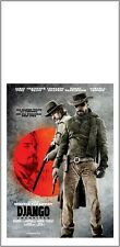 Locandina film DJANGO UNCHAINED TARANTINO 33x70 cm Poster Cinema Prima Ed. ITA